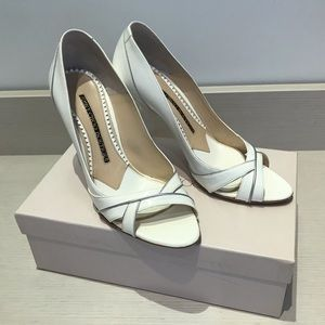 Jimmy Choo Maurice Patent Leather White